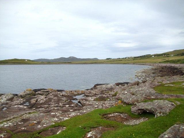 Shoreline at Badenscallie