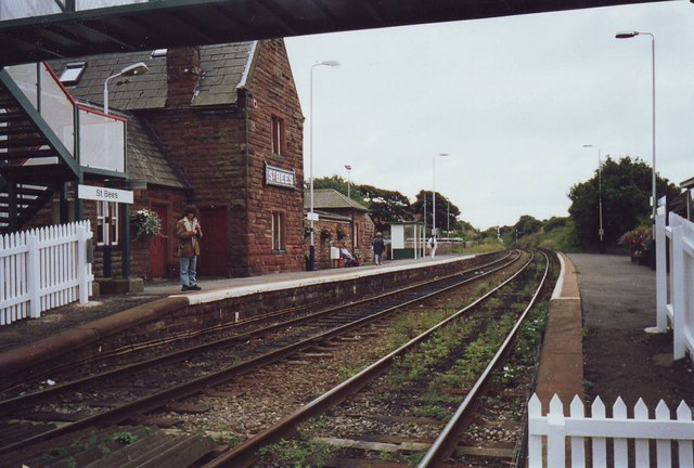 St Bees Railway station, Cumbria