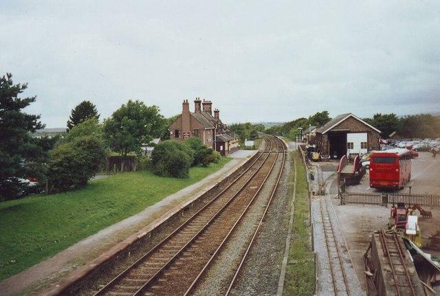 Ravenglass Railway Station, Cumbria