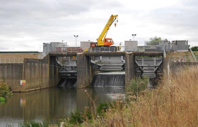 The Leigh Flood Barrier