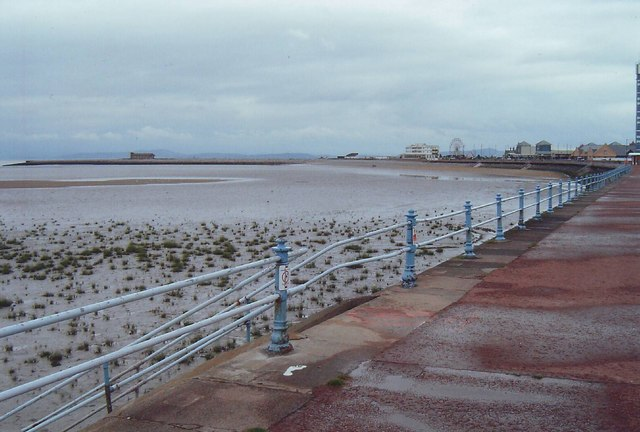 The beach at Morecambe