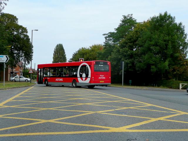 Davies Road junction, Evesham