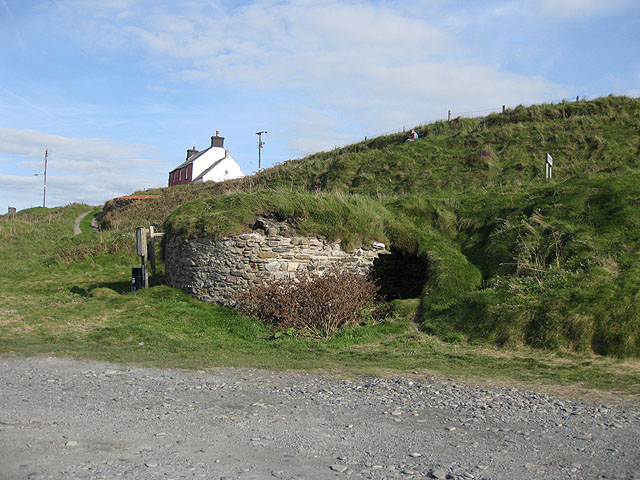 Lime kiln at Abereiddy