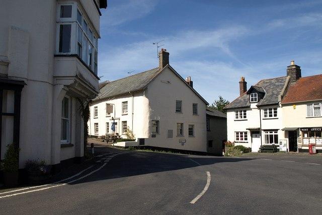 Village square, Drewsteignton