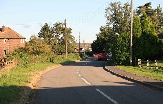 Stokeham village by the church