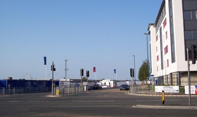 Pegasus Way, Victory Pier, Gillingham