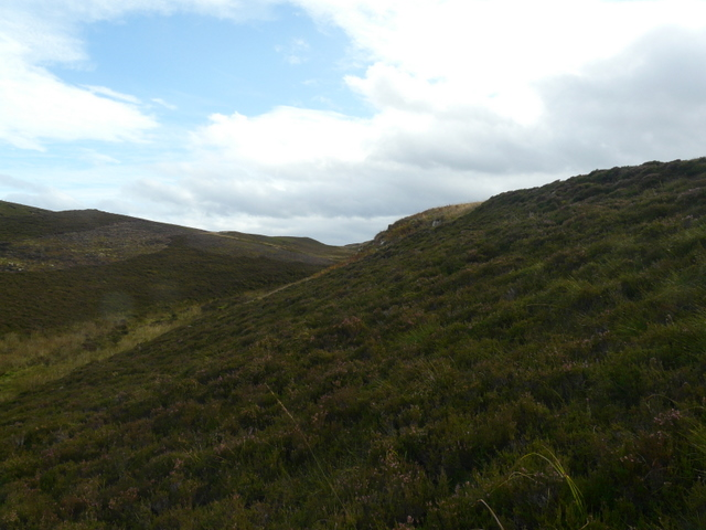 Valley above Loch of Yarrows.