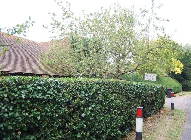 Selby's Farm, Leigh Rd