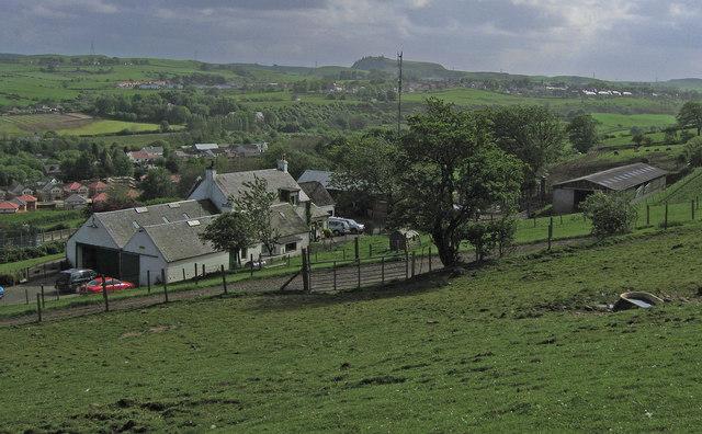 Farm on Hillside, Arthurlie