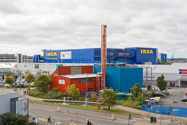 IKEA shop, West Quay Road
