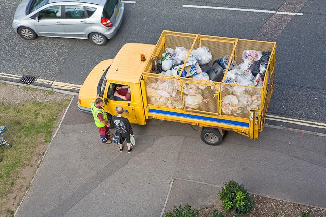 Southampton City refuse cart