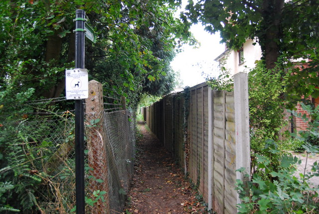 Footpath off Leigh Rd, Hildenborough