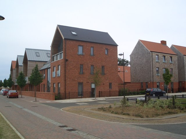 New housing at Upton