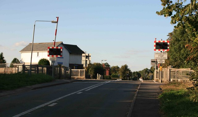 Level Crossing on the Cottam line