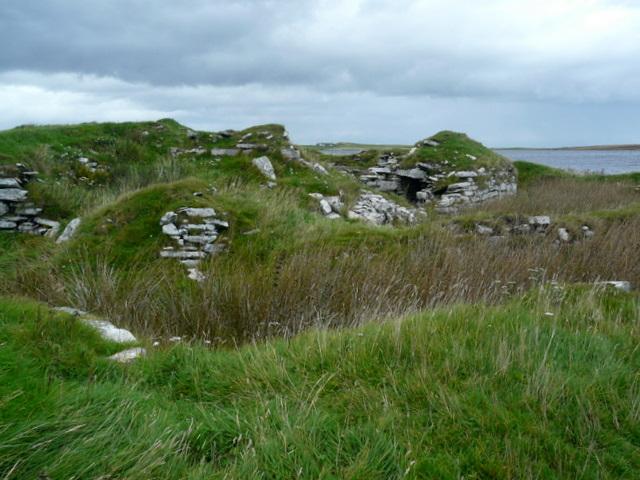 Broch at Loch of the Yarrows.