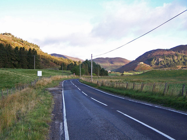 A93, looking north