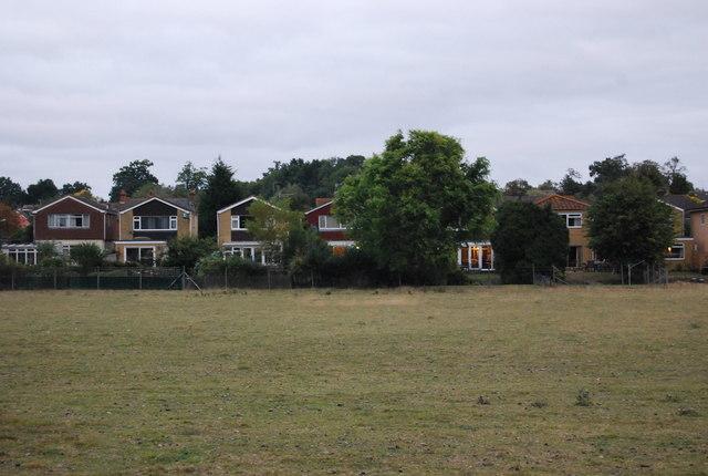 Houses on the edge of Hildenborough