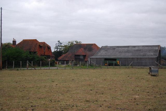Farm buildings, Hawden Farm