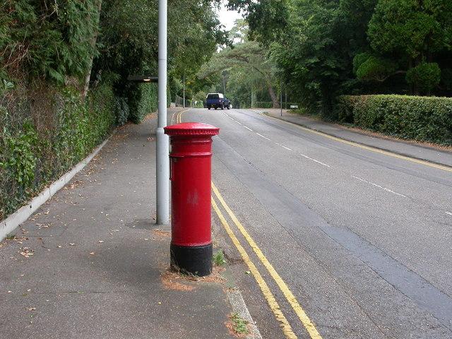 Branksome Park, postbox