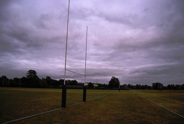 Rugby posts, Tonbridge Recreation Ground
