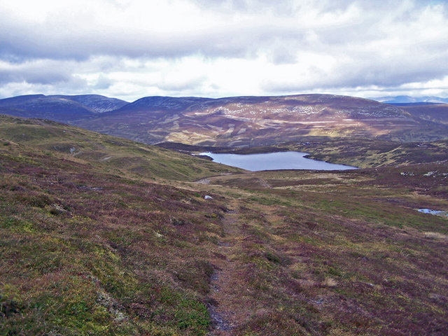 Loch Vrotachan from The Cairnwell