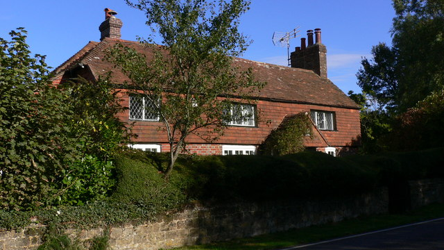 Cottage on the A283 south of Northchapel