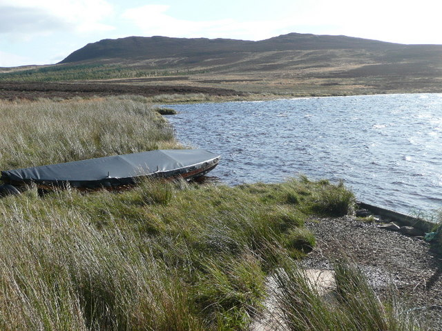 Landing place on Loch Broom