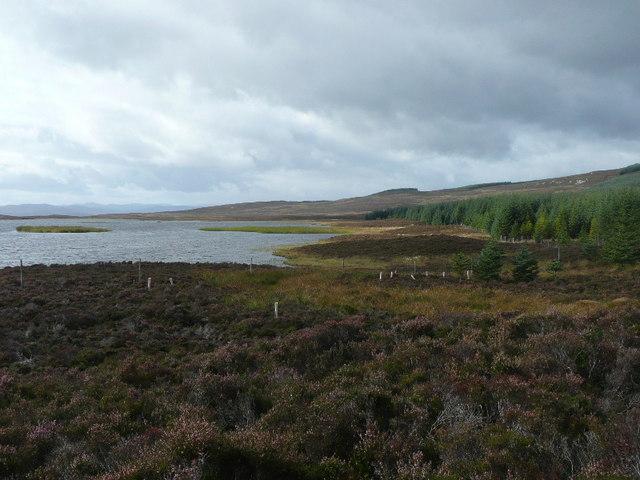 North west shore of Loch Broom