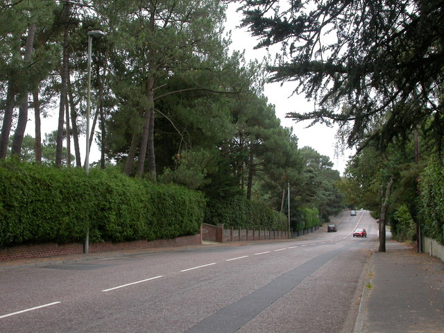 Branksome Park, Canford Cliff Road