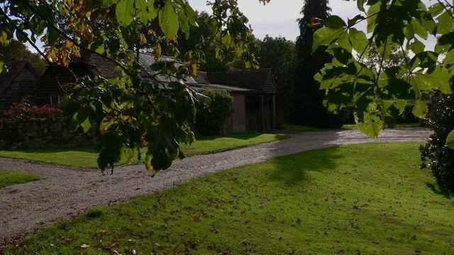 Outbuildings at Hookhams Farm