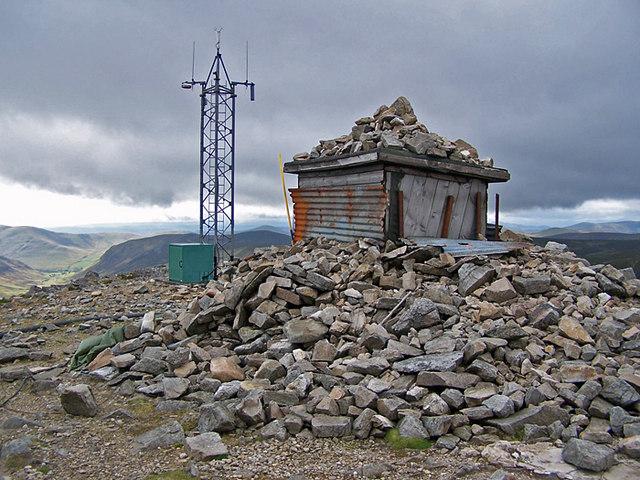 Summit cairn?
