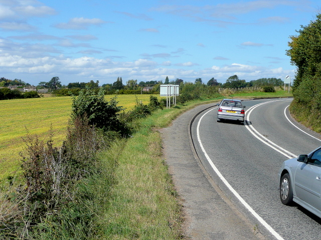 A40 bends at Ryeford