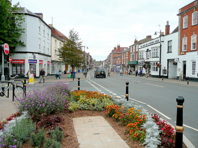 Pershore town centre