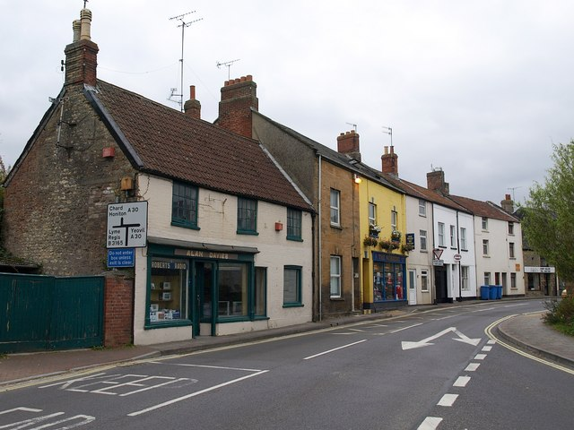 Buildings on South Street, Crewkerne