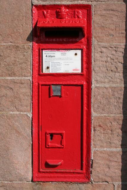 Victorian Postbox, Cheswick