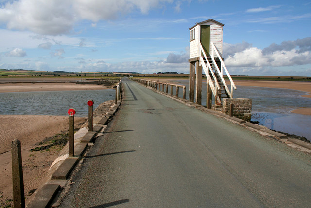 Bridge and Refuge, Lindisfarne Causeway