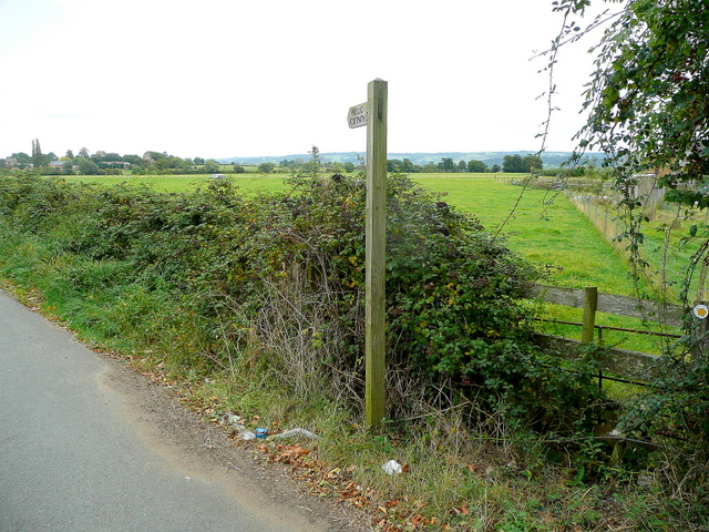 Footpath to Aston Somerville church