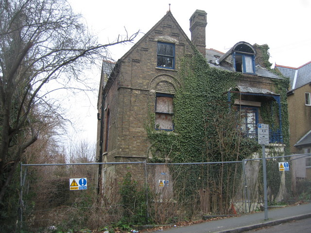 Ivy clad house - Priory Road