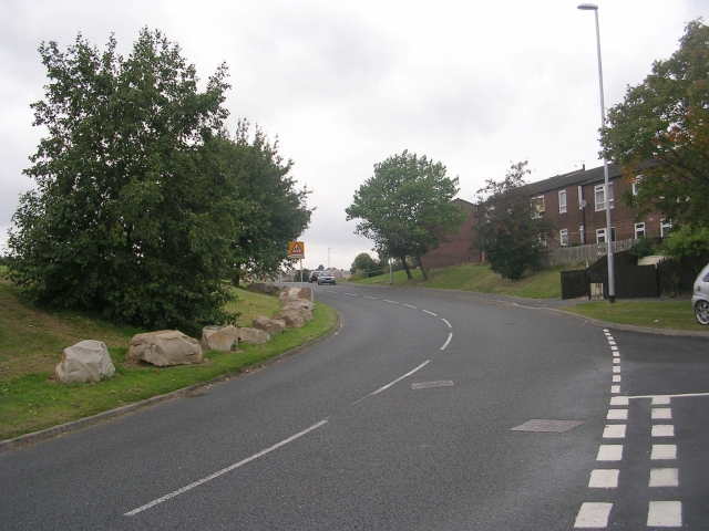 Cottingley Drive - viewed from Dulverton Green