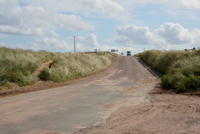 Sand Covered Road, Chare Ends