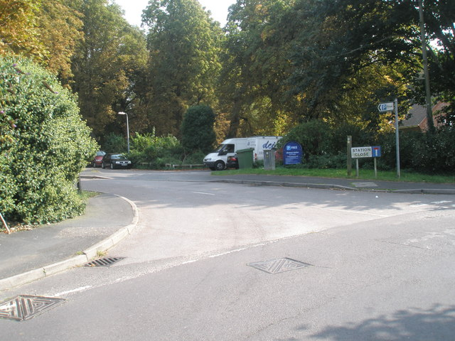 Junction of Mill Lane and Station Close