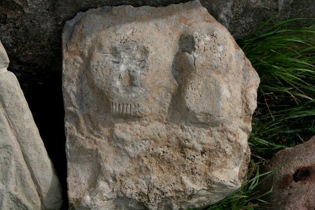 Early Gravestone, Lindisfarne