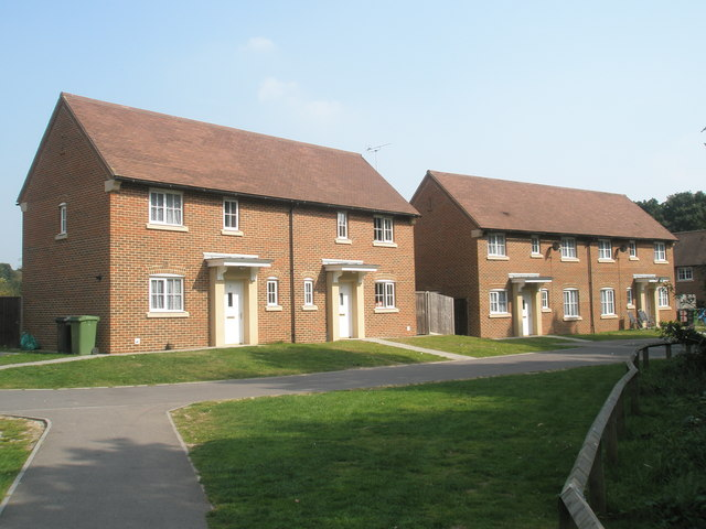 New houses in Dickson Park