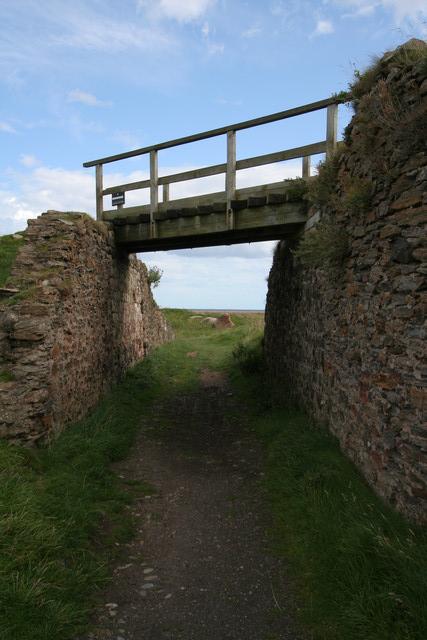 Tramway Bridge, Lindisfarne Castle