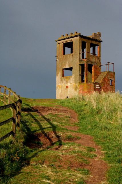 Observation Tower, Goswick Links