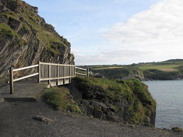 Footbridge by the Blue Lagoon