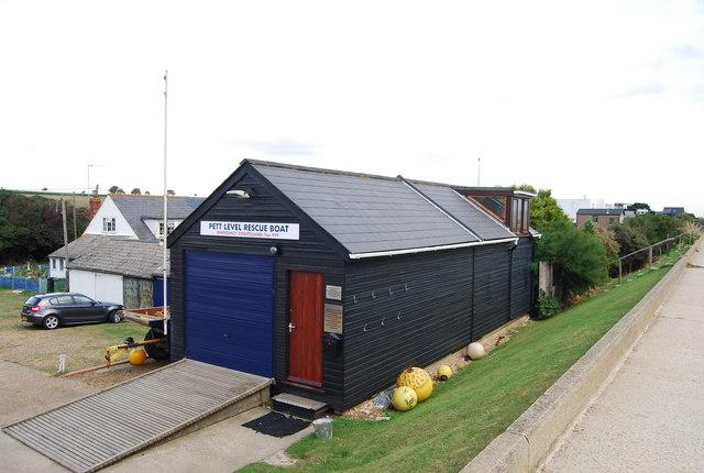 Pett Levels Rescue Boathouse