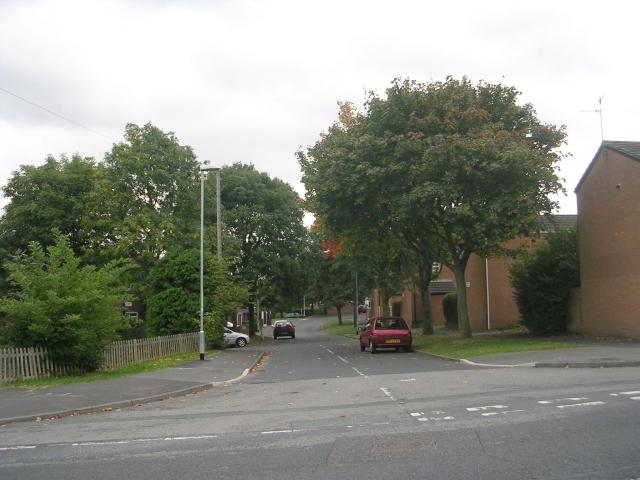 Cottingley Crescent - Cottingley Drive