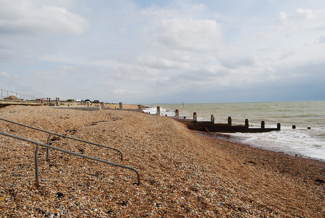 The beach at Pett Levels