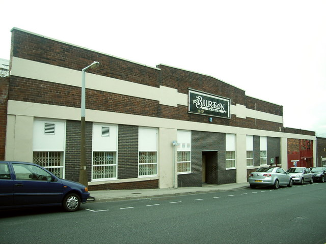 Burton's,  (garage)  Hudson Road Mill, Burmantofts,  Leeds